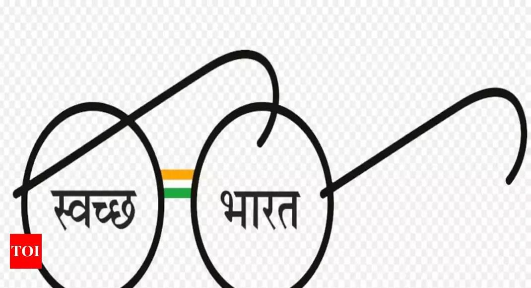 Don't display Gandhiji's glasses on bins, in toilets