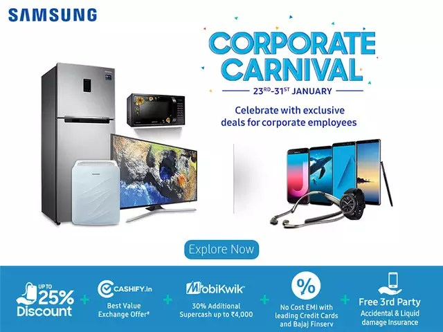 Samsung Is Offering S To Employees Of 500 Companies Across India On Its Products Find Out If Your In The List