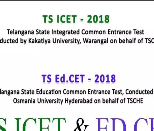 Ts Icet 2018 Results Date And Time Confirmed Check Details Here Times Of India
