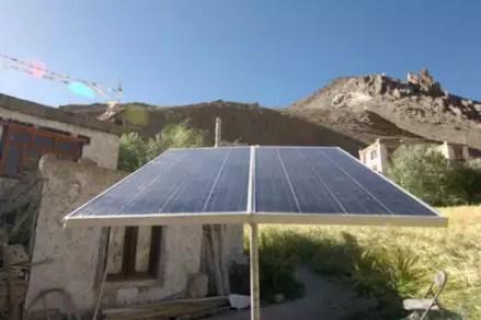 Image result for despite concerns, ladakh solar plan attracts 50 cos