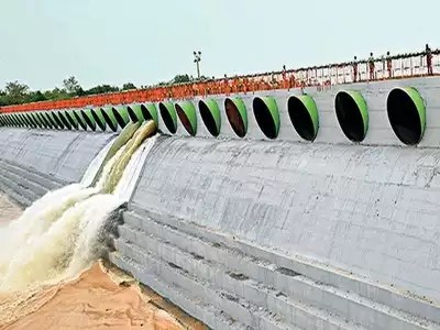 Telugu Latest Agricultural News   Musi Project Gates Damaged
