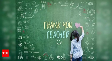 Happy Teachers Day 2020: Wishes Messages Images Quotes Facebook post & WhatsApp status Times of India
