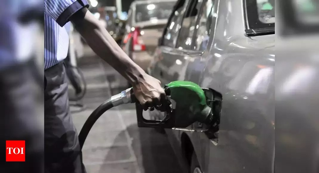 Petrol Diesel Price: Petrol price hiked by 40 paise per litre, diesel by 45 paise | India Business News – Times of India