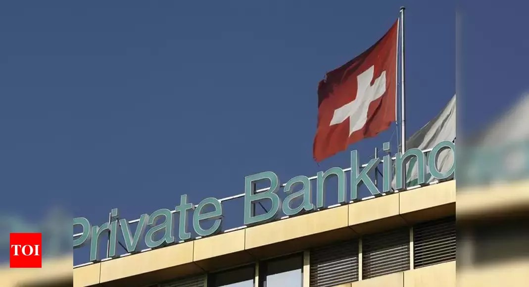Indians' money in Swiss banks down 6% in 2019; hits 3rd lowest in over three decades – Times of India
