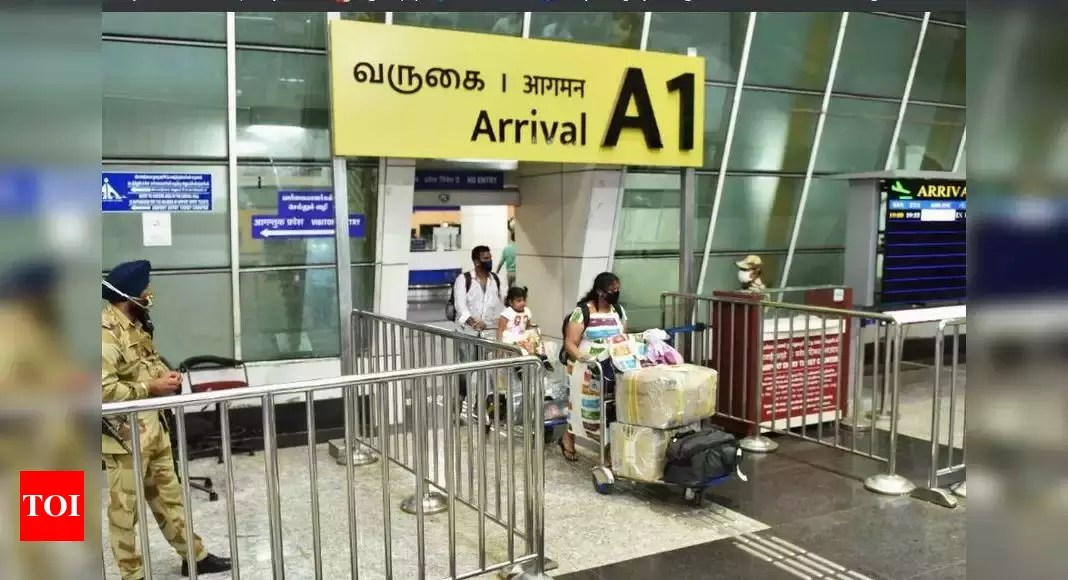 Photo of Govt updates self-declaration form for passengers as Covid-19 recovery improves – Times of India