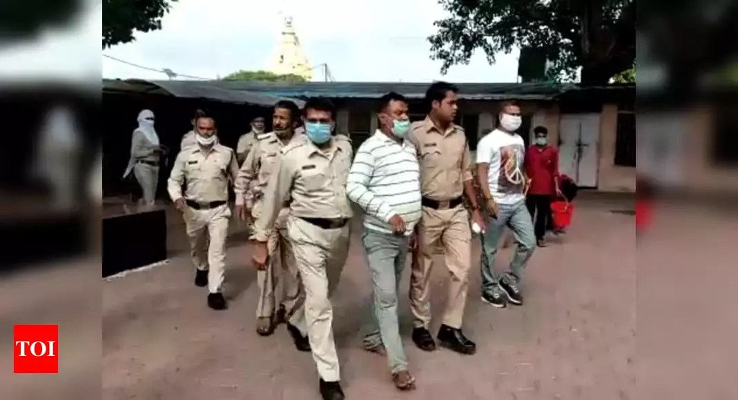 Photo of Vikas Dubey reached Ujjain from Rajasthan by bus: Police probe | India News – Times of India