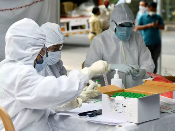 no data on health workers infected or who died during covid duty not maintained at central level: govt | india news - times of india