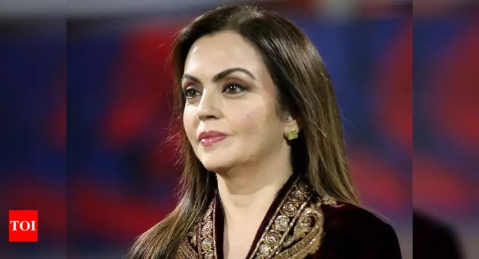 Has taken lot of courage to bring football back in our lives: Nita Ambani | Football News – Times of India
