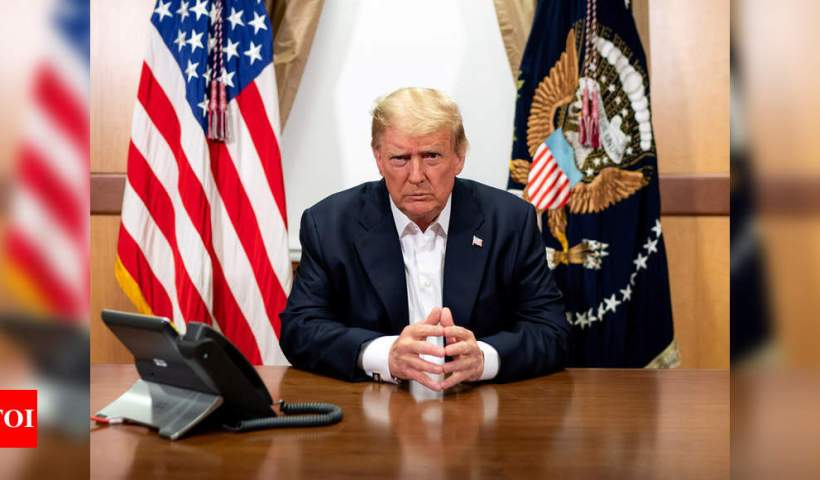 Donald Trump news: Leaked phone call shows Trump effort to overturn election results   World News – Times of India