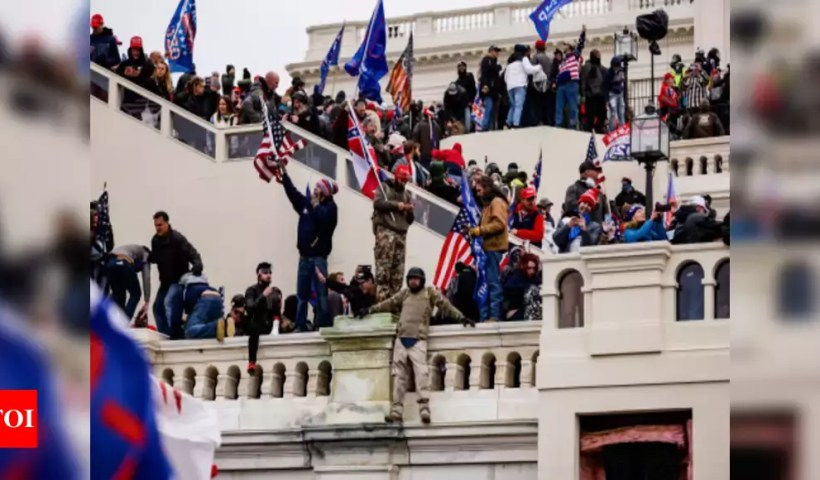 'Failure at the top:' After US Capitol stormed, security chiefs out – Times of India
