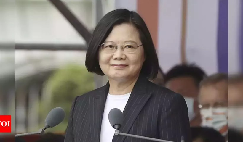 Taiwan says relations with US elevated to global partnership – Times of India