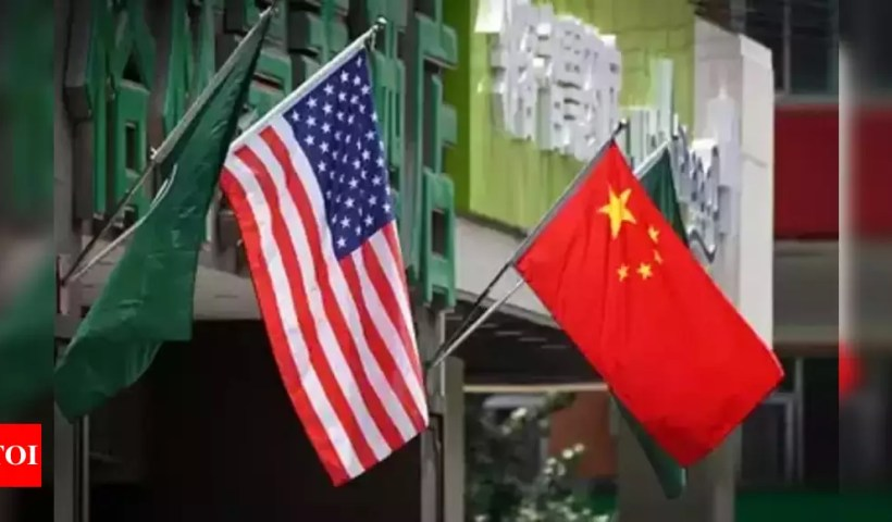 China to sanction US officials for 'nasty' behaviour over Taiwan – Times of India