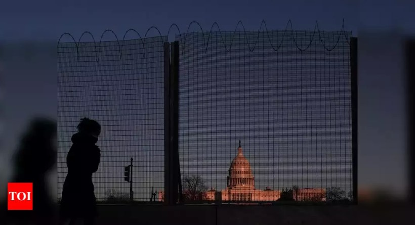 Capitol fences highlight delicate dance over safety, access – Times of India