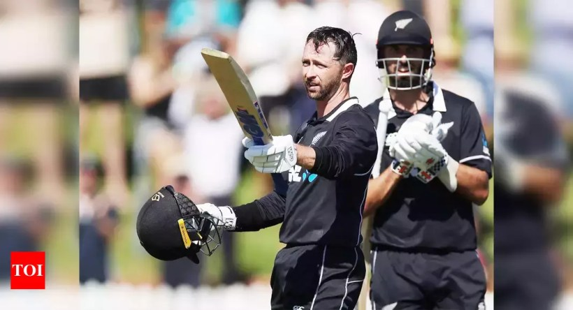 Devon Conway, Daryl Mitchell steer New Zealand to Bangladesh ODI series sweep | Cricket News – Times of India
