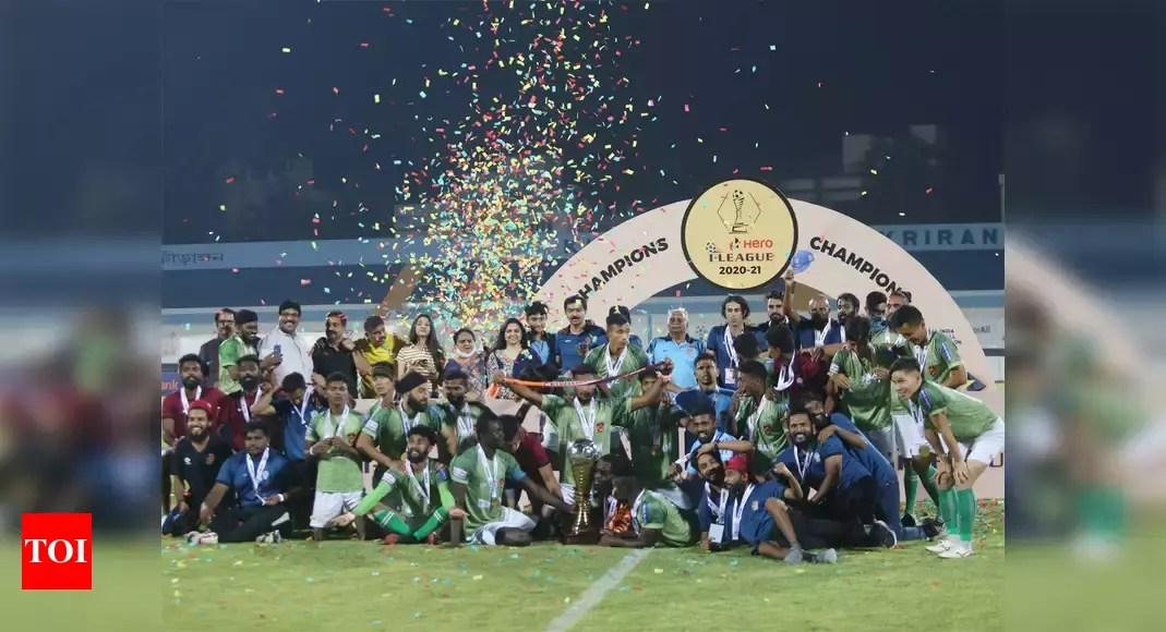 Gokulam Kerala script incredible comeback to win maiden I-League title | Football News – Times of India