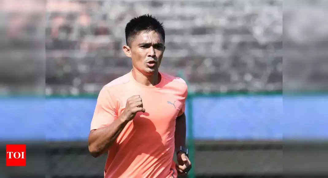 After recovering from COVID, Sunil Chhetri to lead Bengaluru FC in AFC Cup match on April 14 | Football News – Times of India