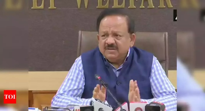 Two non-BJP states among top vaccine recipients: Harsh Vardhan on charges  of bias | India News - Times of India