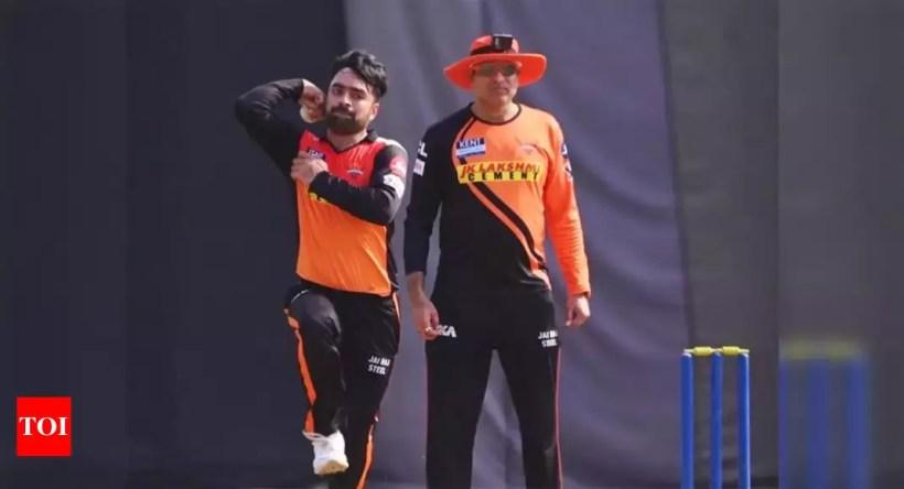 SRH spinner Rashid Khan 'ready' for opening clash against KKR | Cricket News – Times of India