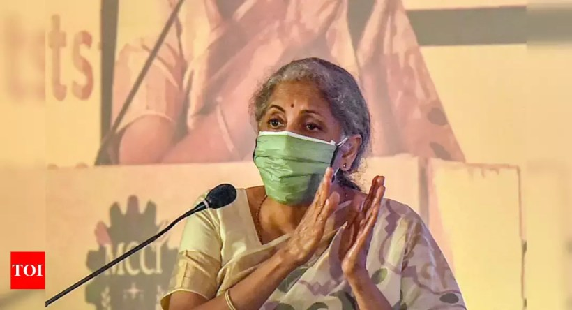 Need complete trust between industry, govt to sustain growth amid Covid situation: Nirmala Sitharaman – Times of India