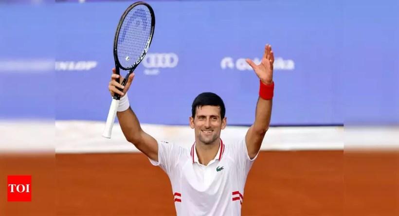 Djokovic cruises into Belgrade quarter-finals   Tennis News – Times of India