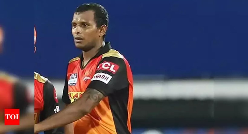 IPL 2021: Sunrisers Hyderabad pacer Natarajan ruled out of tournament | Cricket News – Times of India
