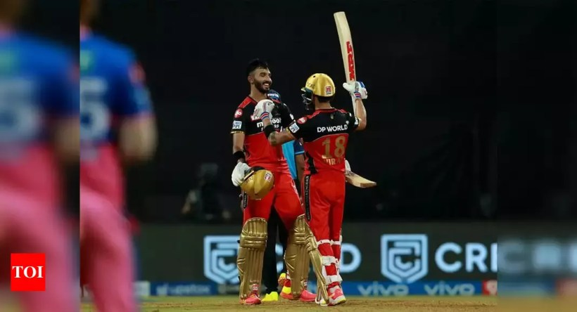 IPL 2021: Stylish Devdutt Padikkal steals thunder from captain Virat Kohli in emphatic 10-wicket victory for Bangalore | Cricket News – Times of India