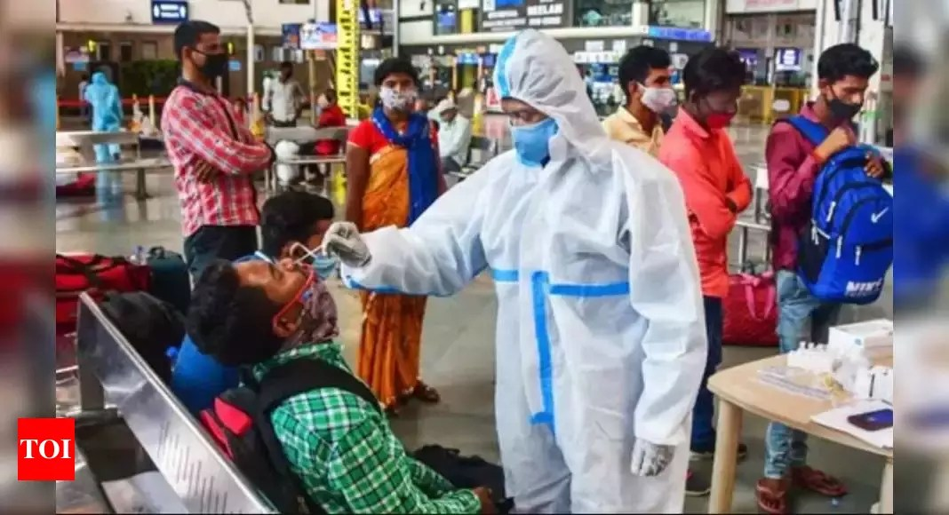 Covid cases in India: India adds 3 lakh+ cases for second day; over half a million cases in past 2 days | India News – Times of India