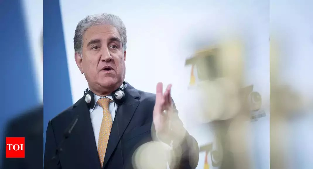 Shah Mahmood Qureshi extends support to Indian people affected by Covid-19 surge – Times of India