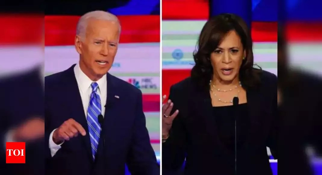 Anti-US sentiment explodes as Joe Biden-Kamala Harris remain cold to New Delhi's needs – Times of India