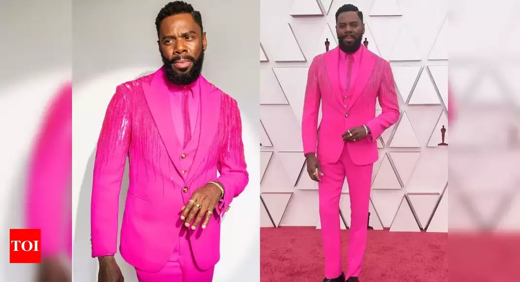 Oscars 2021: Colman Domingo's hot-pink suit is winning all the praises – Times of India