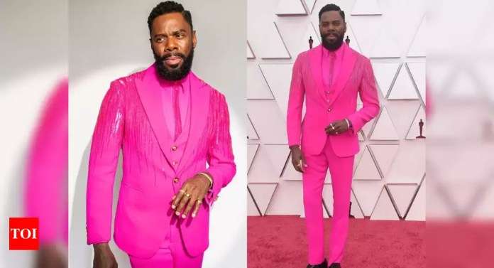 Oscars 2021: Colman Domingo's hot-pink suit is winning all the praises - Times of India | Latest News Live | Find the all top headlines, breaking news for free online April 26, 2021