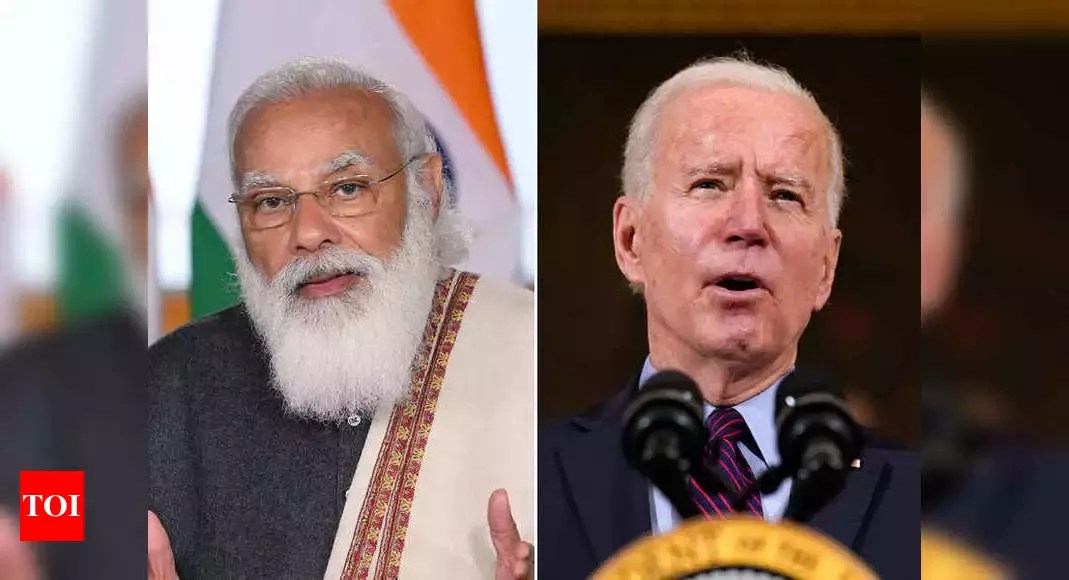 US government jolts into action to aid India after criticism of silence | India News – Times of India