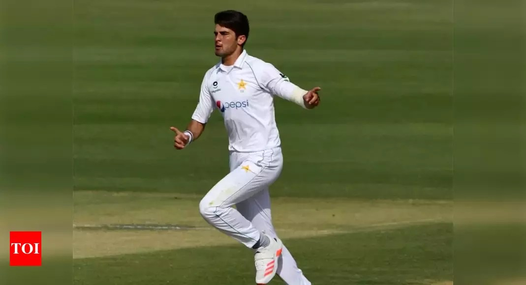 Seamers put Pakistan in control against Zimbabwe in first Test | Cricket News – Times of India
