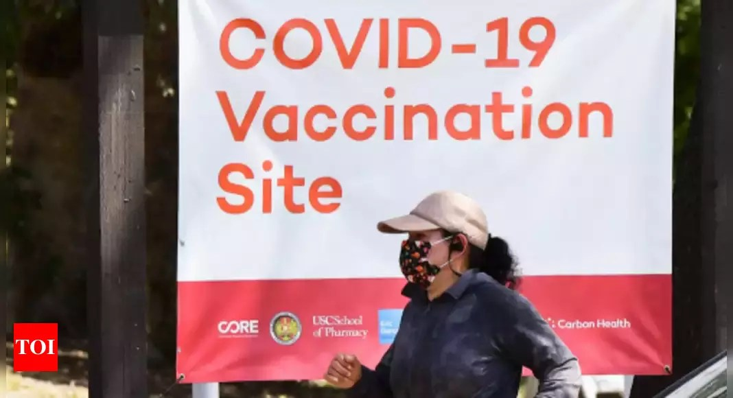 US closes in on 100 million Americans fully vaccinated – Times of India