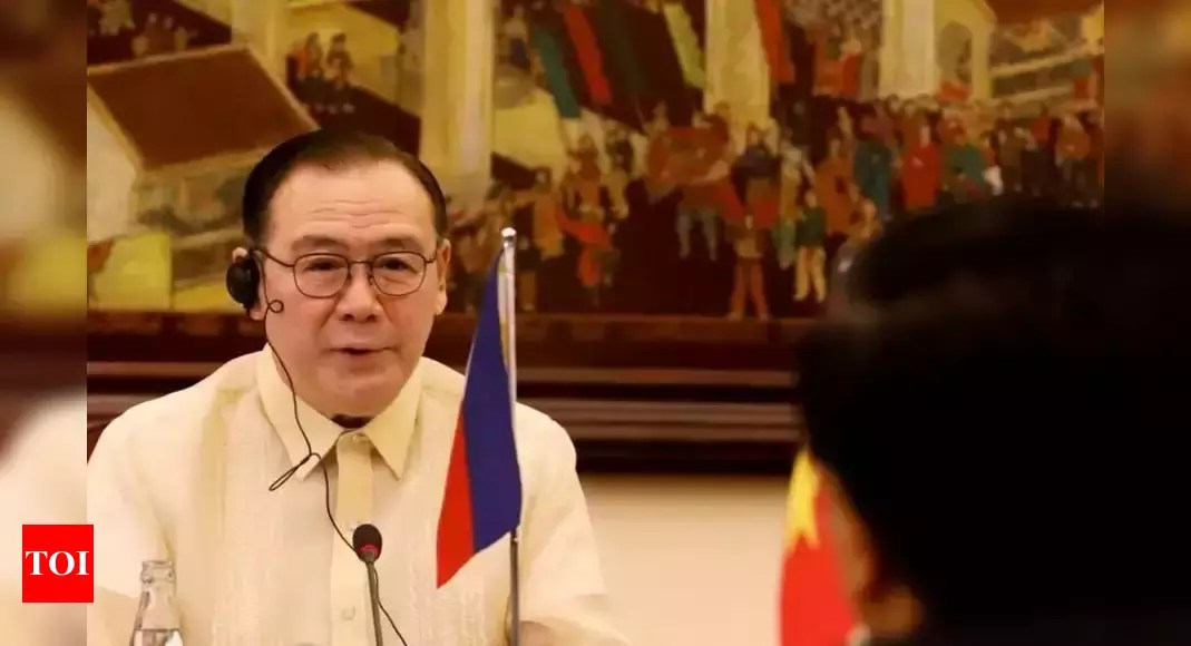 South China Sea: Philippines' top diplomat swears at China online – Times of India