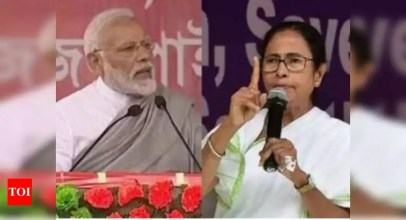 Bengal Violence:   PM Modi calls up Bengal governor on violence, Didi smells 'President's rule' | India News – Times of India