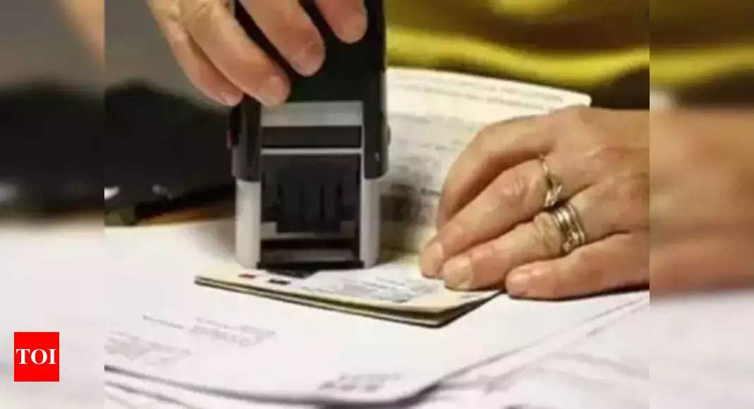 A lakh plus Indian spouses will benefit from plan to suspend Trump-era biometric requirement for work permits – Times of India