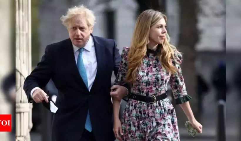 UK PM Johnson marries fiancee in secret ceremony: Reports – Times of India