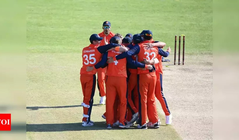 Netherlands beat Ireland by one run in World Cup Super League thriller   Cricket News – Times of India
