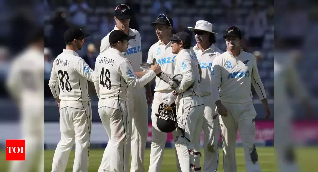 England vs New Zealand, 1st Test: New Zealand hopeful of forcing win against England on Day 5, says Tim Southee | Cricket News – Times of India