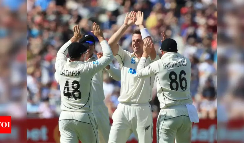 2nd Test: Henry strikes as New Zealand eye England series win | Cricket News – Times of India