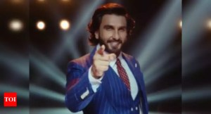 """Ranveer Singh makes his television debut with the trivia game """"The Big Picture"""";  watch the promotion"""