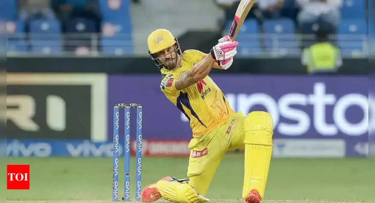 Watch csa:  CSA leaves out du Plessis, Tahir from congratulatory put up on CSK; points one other one after criticism   Cricket News – Occasions of India – Google IPL News
