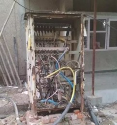 express view apartment residents complain high voltage wires open panel boxes [ 1200 x 972 Pixel ]