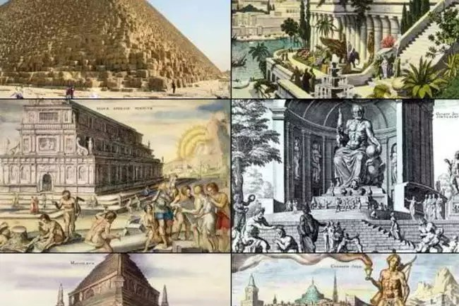 tracing 7 wonders of