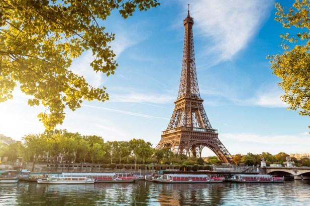 Эйфелева башня. Париж.
