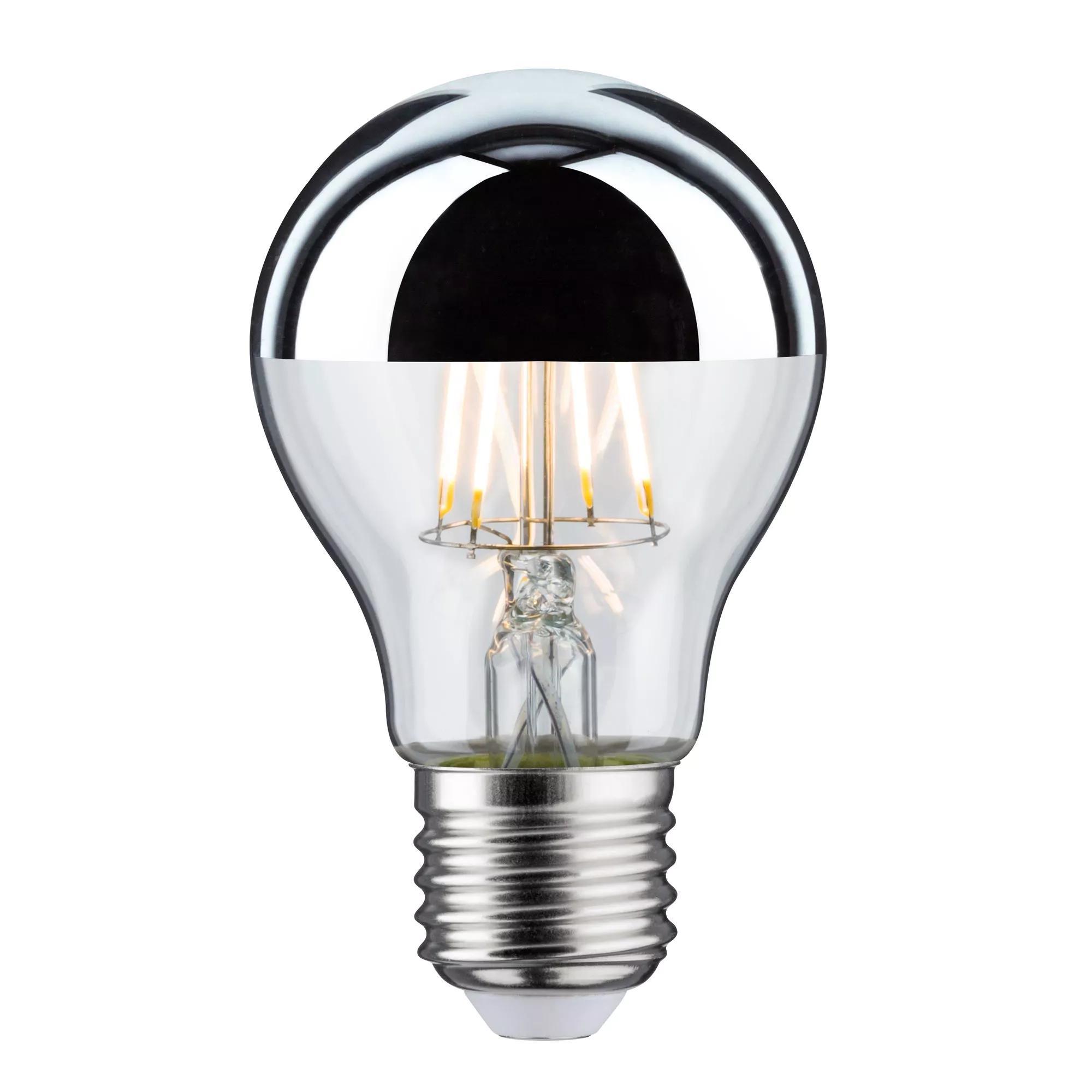 Paulmann LED Kopfspiegellampe E27 6,5W 48W 600 lm silber ...