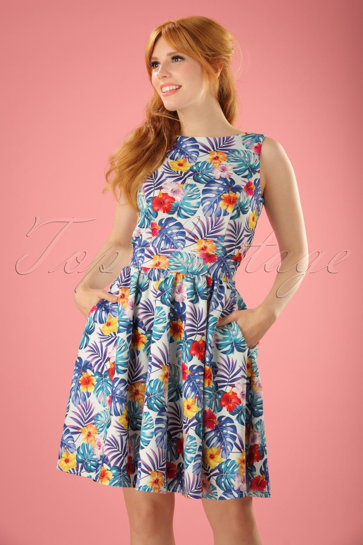 Retro Tiki Tropical Hawaiian Style Dresses