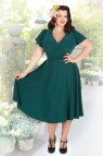 Forest Green Plus Size Dresses