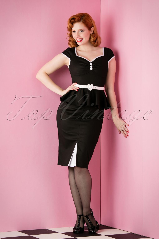 Black Wiggle Dress Uk